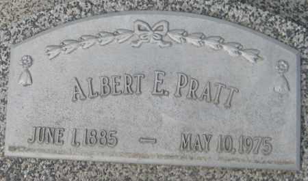 PRATT, ALBERT E. - Saline County, Nebraska | ALBERT E. PRATT - Nebraska Gravestone Photos