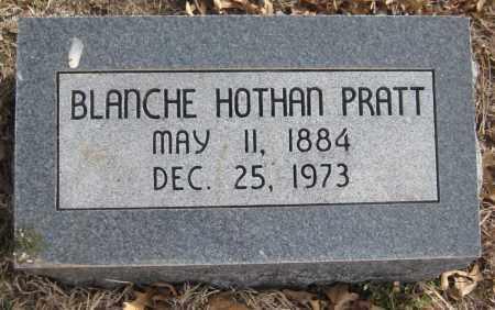 HOTHAN PRATT, BLANCHE - Saline County, Nebraska | BLANCHE HOTHAN PRATT - Nebraska Gravestone Photos