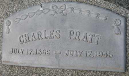 PRATT, CHARLES - Saline County, Nebraska | CHARLES PRATT - Nebraska Gravestone Photos