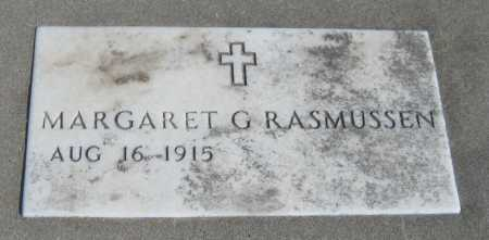 RASMUSSEN, MARGARET GERALDINE - Saline County, Nebraska | MARGARET GERALDINE RASMUSSEN - Nebraska Gravestone Photos