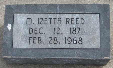REED, M. IZETTA - Saline County, Nebraska | M. IZETTA REED - Nebraska Gravestone Photos