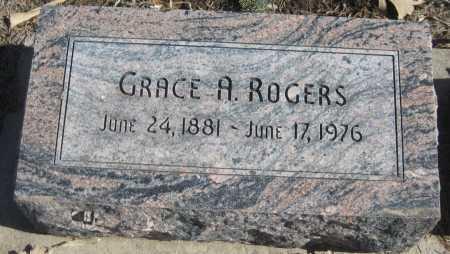 ROGERS, GRACE A. - Saline County, Nebraska | GRACE A. ROGERS - Nebraska Gravestone Photos