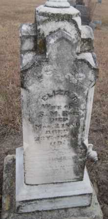 ROSE, ELIZA A. - Saline County, Nebraska | ELIZA A. ROSE - Nebraska Gravestone Photos