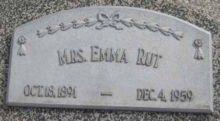 RUT, EMMA - Saline County, Nebraska | EMMA RUT - Nebraska Gravestone Photos