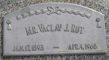 RUT, VACLAV J. - Saline County, Nebraska | VACLAV J. RUT - Nebraska Gravestone Photos