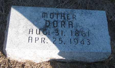 "EDOM SANBURN, OLIVE EUDORA ""DORA"" - Saline County, Nebraska | OLIVE EUDORA ""DORA"" EDOM SANBURN - Nebraska Gravestone Photos"