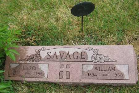 SAVAGE, WILLIAM WALTER - Saline County, Nebraska | WILLIAM WALTER SAVAGE - Nebraska Gravestone Photos
