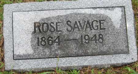 SAVAGE, ROSE MEMBER - Saline County, Nebraska | ROSE MEMBER SAVAGE - Nebraska Gravestone Photos