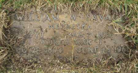 SAVAGE, WILLIAM W. - Saline County, Nebraska   WILLIAM W. SAVAGE - Nebraska Gravestone Photos