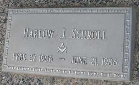 SCHROLL, HARLOW J. - Saline County, Nebraska   HARLOW J. SCHROLL - Nebraska Gravestone Photos