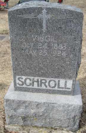 SCHROLL, VIRGIL - Saline County, Nebraska | VIRGIL SCHROLL - Nebraska Gravestone Photos