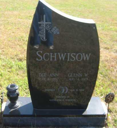 SCHWISOW, DEE ANN - Saline County, Nebraska | DEE ANN SCHWISOW - Nebraska Gravestone Photos