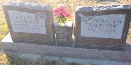SCHWISOW, PATRICIA M. - Saline County, Nebraska | PATRICIA M. SCHWISOW - Nebraska Gravestone Photos