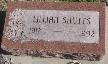 SHUTTS, LILLIAN - Saline County, Nebraska   LILLIAN SHUTTS - Nebraska Gravestone Photos