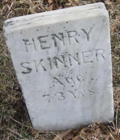 SKINNER, HENRY - Saline County, Nebraska | HENRY SKINNER - Nebraska Gravestone Photos
