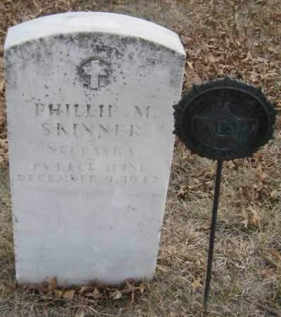 SKINNER, PHILLIP M. - Saline County, Nebraska | PHILLIP M. SKINNER - Nebraska Gravestone Photos