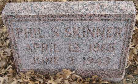 SKINNER, PHIL S. - Saline County, Nebraska | PHIL S. SKINNER - Nebraska Gravestone Photos