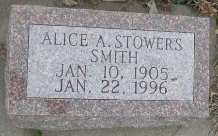 SMITH, ALICE A. - Saline County, Nebraska | ALICE A. SMITH - Nebraska Gravestone Photos