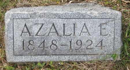 SMITH, AZALIA E. - Saline County, Nebraska | AZALIA E. SMITH - Nebraska Gravestone Photos