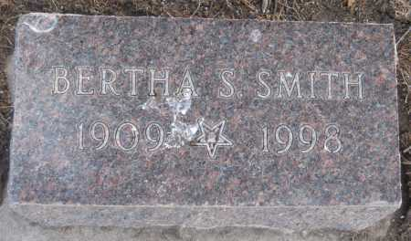 SMITH, BERTHA S. - Saline County, Nebraska   BERTHA S. SMITH - Nebraska Gravestone Photos