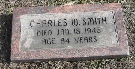 SMITH, CHARLES W. - Saline County, Nebraska | CHARLES W. SMITH - Nebraska Gravestone Photos