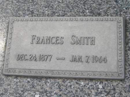 SMITH, FRANCES - Saline County, Nebraska   FRANCES SMITH - Nebraska Gravestone Photos