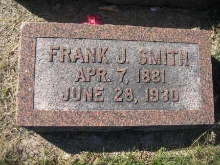 SMITH, FRANK J. - Saline County, Nebraska | FRANK J. SMITH - Nebraska Gravestone Photos