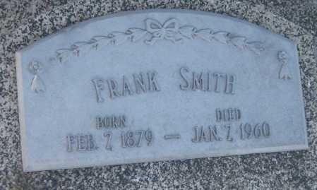 SMITH, FRANK - Saline County, Nebraska | FRANK SMITH - Nebraska Gravestone Photos