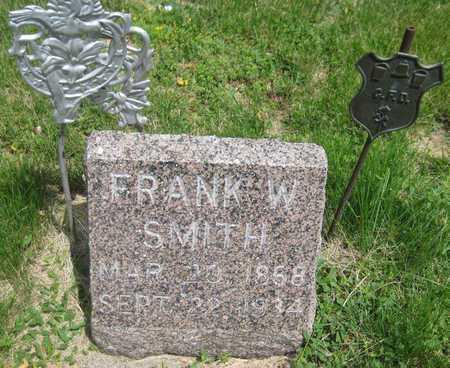 SMITH, FRANK W. - Saline County, Nebraska | FRANK W. SMITH - Nebraska Gravestone Photos