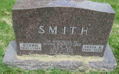 SMITH, JULIA MAUD - Saline County, Nebraska | JULIA MAUD SMITH - Nebraska Gravestone Photos