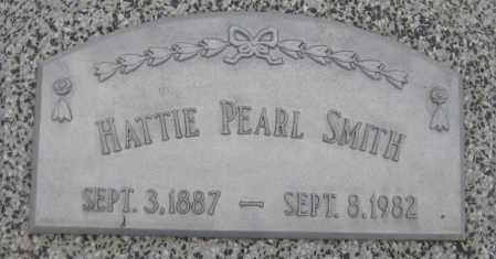 SMITH, HATTIE PEARL - Saline County, Nebraska   HATTIE PEARL SMITH - Nebraska Gravestone Photos