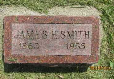 SMITH, JAMES HENRY - Saline County, Nebraska   JAMES HENRY SMITH - Nebraska Gravestone Photos