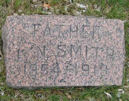 SMITH, L. N. - Saline County, Nebraska | L. N. SMITH - Nebraska Gravestone Photos