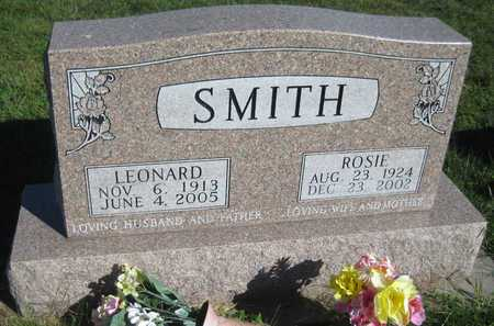 SMITH, ROSIE - Saline County, Nebraska | ROSIE SMITH - Nebraska Gravestone Photos