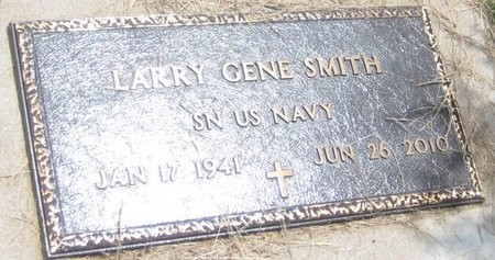 SMITH, LARRY GENE - Saline County, Nebraska | LARRY GENE SMITH - Nebraska Gravestone Photos