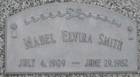 SMITH, MABEL ELVIRA - Saline County, Nebraska   MABEL ELVIRA SMITH - Nebraska Gravestone Photos