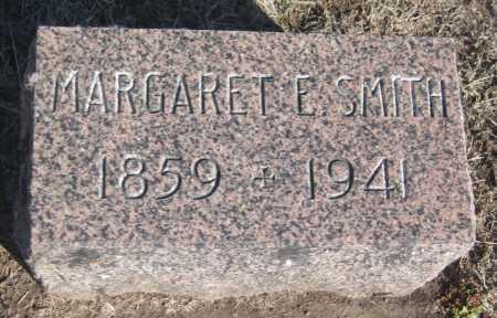 SMITH, MARGARET E. - Saline County, Nebraska   MARGARET E. SMITH - Nebraska Gravestone Photos