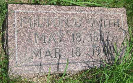 SMITH, MILTON O. - Saline County, Nebraska | MILTON O. SMITH - Nebraska Gravestone Photos