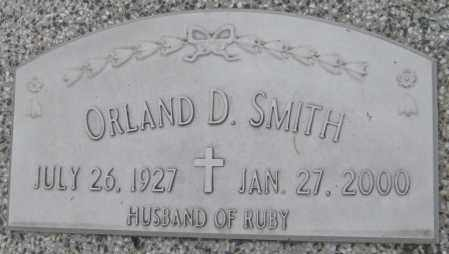 SMITH, ORLAND D. - Saline County, Nebraska | ORLAND D. SMITH - Nebraska Gravestone Photos