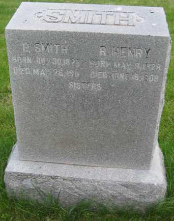 SMITH, PHEBE - Saline County, Nebraska | PHEBE SMITH - Nebraska Gravestone Photos
