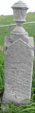 THOMPSON SMITH, SARAH - Saline County, Nebraska | SARAH THOMPSON SMITH - Nebraska Gravestone Photos