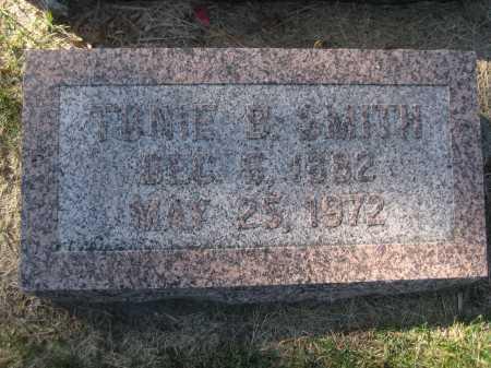 SMITH, TONIE B. - Saline County, Nebraska | TONIE B. SMITH - Nebraska Gravestone Photos