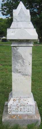 SMITH, WILLIAM H. - Saline County, Nebraska   WILLIAM H. SMITH - Nebraska Gravestone Photos