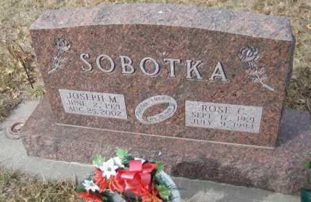 SOBOTKA, JOSEPH M. - Saline County, Nebraska | JOSEPH M. SOBOTKA - Nebraska Gravestone Photos