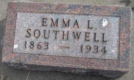 SOUTHWELL, EMMA L. - Saline County, Nebraska | EMMA L. SOUTHWELL - Nebraska Gravestone Photos