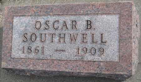 SOUTHWELL, OSCAR B. - Saline County, Nebraska | OSCAR B. SOUTHWELL - Nebraska Gravestone Photos