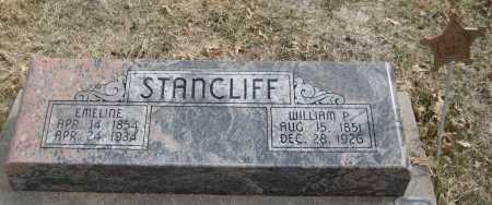STANCLIFF, WILLIAM P. - Saline County, Nebraska | WILLIAM P. STANCLIFF - Nebraska Gravestone Photos
