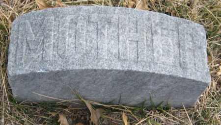 STANDISH, HATTIE - Saline County, Nebraska | HATTIE STANDISH - Nebraska Gravestone Photos