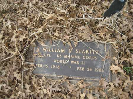 STARITZ, WILLIAM V. - Saline County, Nebraska | WILLIAM V. STARITZ - Nebraska Gravestone Photos