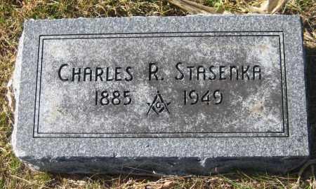 STASENKA, CHARLES R. - Saline County, Nebraska   CHARLES R. STASENKA - Nebraska Gravestone Photos